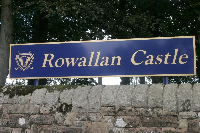 ROWALLAN CASTLE GOLF COURSE